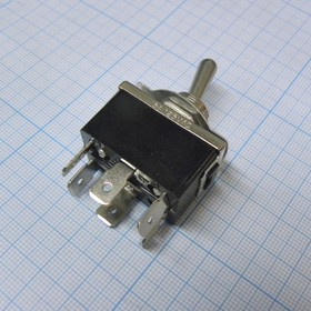 MT KN3(C)-212AP-B2 15A/125V 10A/250V, ON-ON 2гр. конт. клеммы