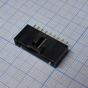 MSG 1X09M, 2.54mm