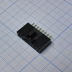 MSG 1X08M, 2.54mm