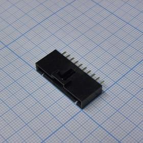 MSG 1X10M, 2.54mm