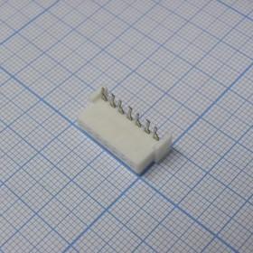 XH 07Fr 2.5mm розетка на плату угловая