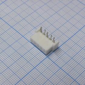 XH 05Fr 2.5mm розетка на плату угловая