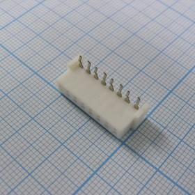 XH 08Fr 2.5mm розетка на плату угловая