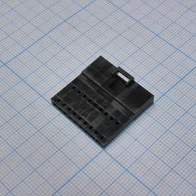 MSG 1X09Mh 2.54mm вил. на кабель