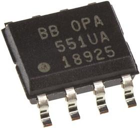 OPA551UA, OP AMP SINGLE GP 30V 8-PIN SOIC