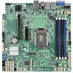 Материнская Плата Intel DBS1200SPSR iC232 uATX 4xDDR4 ...