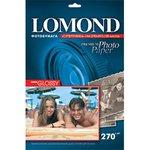 Бумага Lomond 1106100 A4/270г/м2/20л./белый высокоглянцевое ...