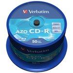Verbatim 43343 CD-R 80 52x DL+CB/50 Crystal ...