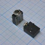 TRS 3.5 (mini jack) 2824, Стерео гнездо приборное