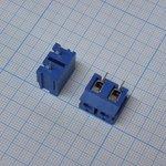 Фото 2/2 DG305-7.5-02P-12, Клеммник винтовой, 2-контактный, 7.5мм, прямой