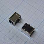 USB B A-09 розетка на плату