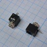 TS 2.5 (micro jack) 2821, Моно гнездо приборное