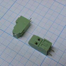 DG381H-3.81-02P-14-00AH, зелёный