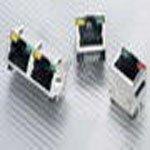 Фото 2/3 RJHSE-308A, Модульный разъем, RJ45 Jack, 1 x 1 (Port), 8P8C, Cat5, Монтаж в Сквозное Отверстие