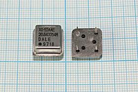 Кварцевый генератор 20.643354МГц 5В, HCMOS/TTL в корпусе HALF=DIL8, гк 20643,354 \\HALF\T/CM\5В\XO-52AAE\