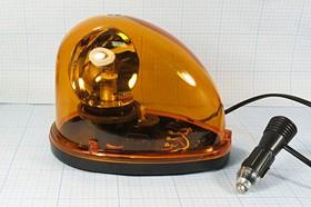 Стробоскоп 182x126x140мм, жёлто-оранжевый на магните, частота 0.5имп/сек,питание 12В, №8756 Y стробоскоп\ 12В\жел\0,5сек\ 182x126x140\KP182\