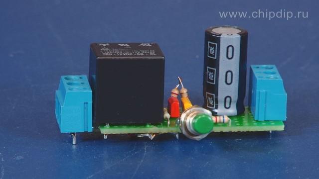Представленная схема способна выполнять задержку выключения различных электронных устройств с заданным временным...