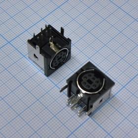 MDN-7J розетка на плату металл
