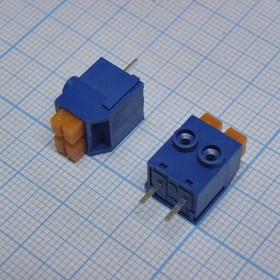 DG390-5.0-02P-12-00AH, синий