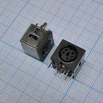MDN-5J розетка на плату металл