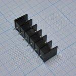 Фото 2/2 DG25C-B-06P-13, Клеммник 6-контактный шаг 7.62мм