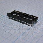 Фото 2/2 ICSS-48 (DS1010-48W), DIP панель 48-контактная шаг 1.778мм широкая