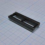 Фото 2/2 ICSS-56 (DS1010-56W), DIP панель 56-контактная шаг 1.778мм широкая