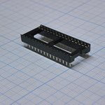 Фото 2/2 SCL-32 (DS1009-32AW), DIP панель 32 контакта широкая