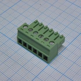 15EDGK-3.81-06P-24-00AH, 6 конт. через один