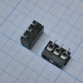 306-031-13, Клеммник черный 3 pin
