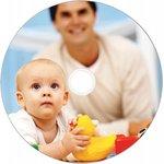 Фото 2/4 Диск CD-R Verbatim 700Mb 52x Cake Box (50шт) Printable (43438)
