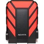 "Жесткий диск A-Data USB 3.0 1Tb AHD710P-1TU31-CRD HD710Pro DashDrive Durable (5400rpm) 2.5"" черный/красный"