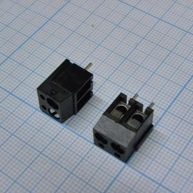 DG300-5.0-02P- 13-00AH-черн. ( 300-021-13 ), Клеммник (черный)