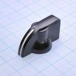 Ручка K7-2 bakelite (клювик) d=6.4
