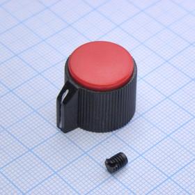 Ручка KN-113B красн.d=3.2