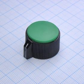 Ручка KN-113A зел. d=3.2
