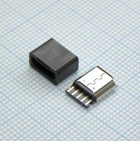 microUSB 5BF каб, розетка кабельная