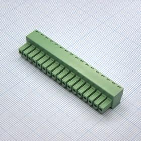 15EDGK-3.81-09P-24-00AH, 9 конт. через один