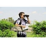 Фото 3/3 Бинокль Hama 10x 50мм OptecPorro черный (00002804)