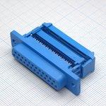 Фото 2/2 DI-25F (DFP-25S), Гнездо 25 pin на шлейф (пластик)