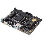 Материнская плата Asus A68HM-K Soc-FM2+ AMD A68H 2xDDR3 mATX ...