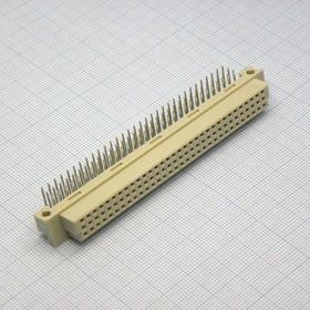 DIN 3X32 96FR (2.54mm)