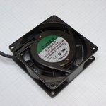 Фото 2/2 SF23080AT.2082HBL.GN (JA0825H2B), Вентилятор 220В, 80х80х25мм, подшипник качения 2400 об/мин