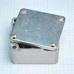 Фото 2/2 G104, Корпус для РЭА 64х58х35 мм, металл, герметичный