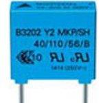 Фото 2/2 B81123C1222M000, Пленочный конденсатор, 2200 пФ, Y1, Серия B81123, 500 В, PP (Полипропилен)