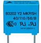 B32023A3224M, Cap Film Suppression Y2 0.22uF 300VAC PP 20% (26.5 X 12 X 22mm) Radial 22.5mm 110C Automotive Bulk