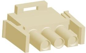 2178473-2, Корпус разъема, Universal MATE-N-LOK Series, Штекер, 3 вывод(-ов), 6.35 мм