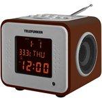 Радиоприемник настольный Telefunken TF-1575 дерево темное USB SD/MMC