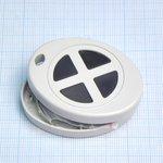 Фото 2/2 G1402-4G, Кнопка-брелок 55х43х13.4 мм, пластик, серая с 4 кнопками