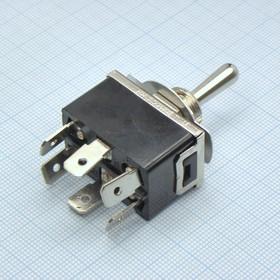 MT KN3(C)-102AP-B2 15A/125V; 10A/250V, ON-ON 1 гр. конт.on-on 1гр. конт. клеммы